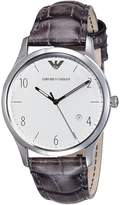 Emporio Armani Men's Beta AR1880 Leather Quartz Watch