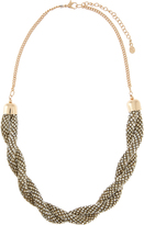 Monsoon Wrapped Bead Statement Necklace