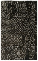 "Surya Bjorn Area Rug - Charcoal/Beige/Chocolate, 3'3"" x 5'3"""