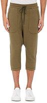 Nlst Men's Cotton-Blend Harem Sweatpants-Dark Green Size M