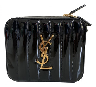 Saint Laurent Belt Bag Black Patent leather Clutch bags
