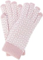 Dents Diamond print gloves