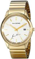 Jacques Lemans Unisex KC-102E Kevin Costner Collection Analog Display Quartz Gold Watch