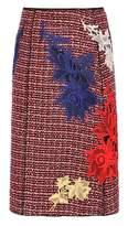 Marc Jacobs Embellished tweed skirt