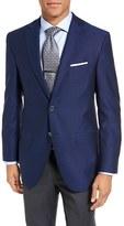 David Donahue Men's Connor Classic Fit Wool Blazer