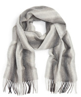 Nordstrom Striped Cashmere Scarf