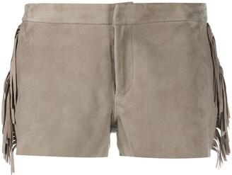 AllSaints Suede Shorts