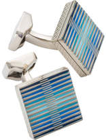 Tateossian GRAPHIC TITANIUM CUFFLINKS