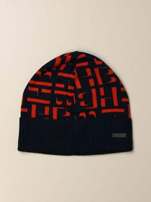 HUGO BOSS Hat With All Over Logo