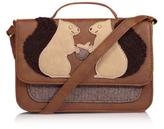 George Squirrel Appliqué Cross Body Bag