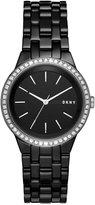 DKNY Women's Park Slope Black Ceramic Bracelet Watch 36mm NY2529