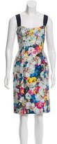 Erdem Floral Print Knee-Length Dress w/ Tags