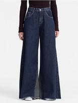 Calvin Klein Jeans Extreme Wide Leg High Rise Jeans