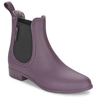 BeOnly Be Only BOOTS BEATLE women's Wellington Boots in Purple