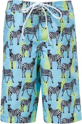 Snapper Rock Zebra Crossing True Board Shorts