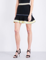 Sandro Fit-and-flare knitted skirt
