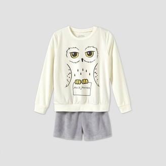 Harry Potter Girls' Hedwig 2pc Pajama Set -
