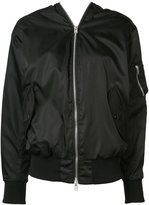 Yang Li double zip bomber jacket