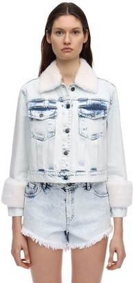 Simonetta Ravizza Cotton Denim Jacket