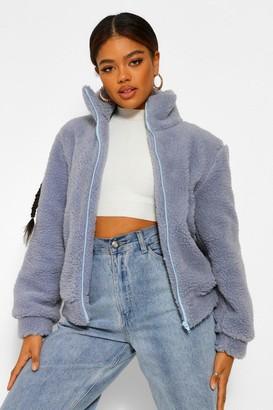 boohoo Teddy Faux Fur Jacket