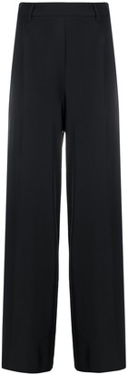 Blumarine High-Waisted Wide Leg Trousers