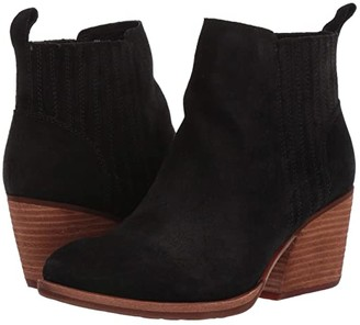 Kork-Ease Cinca (Black Suede) Women's Boots