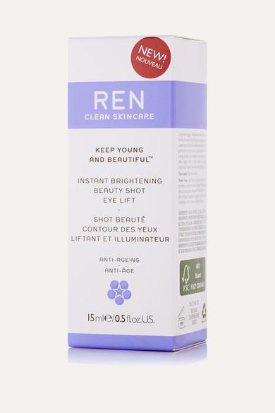 Ren Skincare Instant Brightening Beauty Shot Eye Lift, 15ml - Colorless
