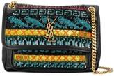Saint Laurent embellished shoulder bag