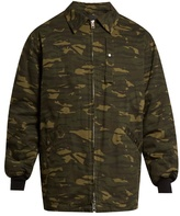 Alexander Wang Camouflage-print Padded Field Jacket