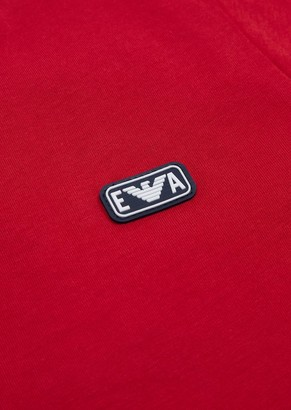 Emporio Armani Jersey T-Shirt With Ea Logo Patch