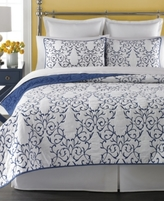 Martha Stewart Collection Collection Cotton Chateau Twin Quilt