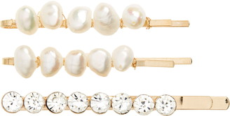 Tasha 3-Pack Imitation Pearl & Crystal Bobby Pins