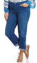 NYDJ Plus Jessica Relaxed Boyfriend Jeans