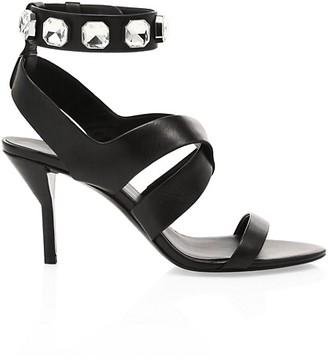 3.1 Phillip Lim Kiddie Jewelled Leather Sandals