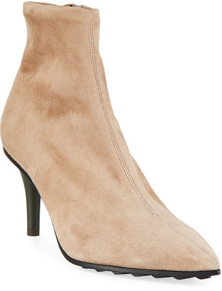Rag & Bone Beha Stretch Suede Zip Booties