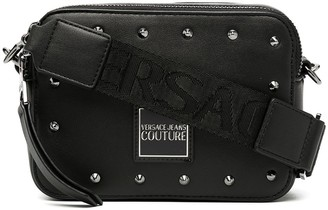 Versace Jeans Couture Stud-Embellished Crossbody Bag