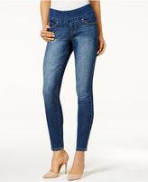 Jag Petite Amelia Pull-On Durango Wash Skinny Ankle Jeans