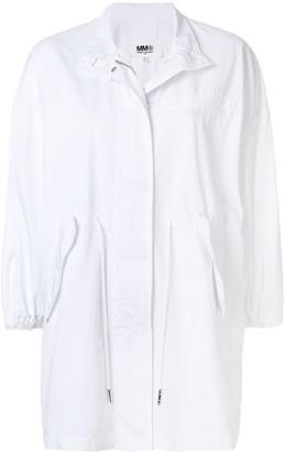 MM6 MAISON MARGIELA oversized parka coat