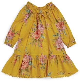 Zimmermann Zinnia Floral Smock Dress