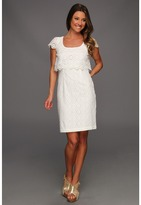Jessica Simpson Popover Dress (White) - Apparel