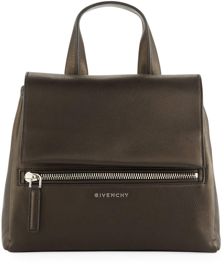 Givenchy Pandora Pure Small Leather Satchel Bag