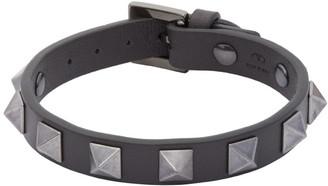 Valentino Grey Garavani Rockstud Bracelet