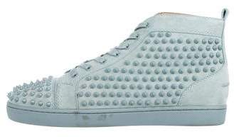 Christian Louboutin Louis Flat Spikes Sneakers