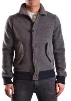 Roy Rogers Roy Roger's Men's Grey Polyester Outerwear Jacket.