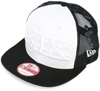 Kokon To Zai Embroidered Mesh Detail Baseball Cap