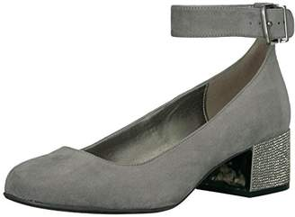 Kenneth Cole Reaction Women's Flip Around Round Toe Pump with Ankle Strap Dress