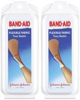 Band-Aid Flexible Fabric Adhesive Bandages, Travel Pack, 2 pk