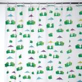 InterDesign Frogs EVA Shower Curtain