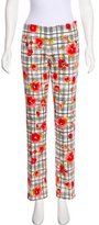 Moschino Cheap & Chic Moschino Cheap and Chic Mid-Rise Straight-Leg Pants