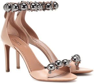 Alaia Bombe leather sandals